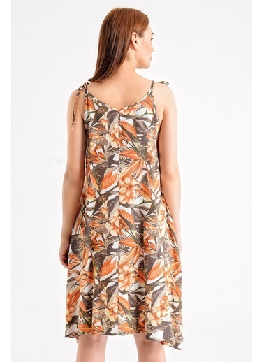 Jument Elbise Oranj